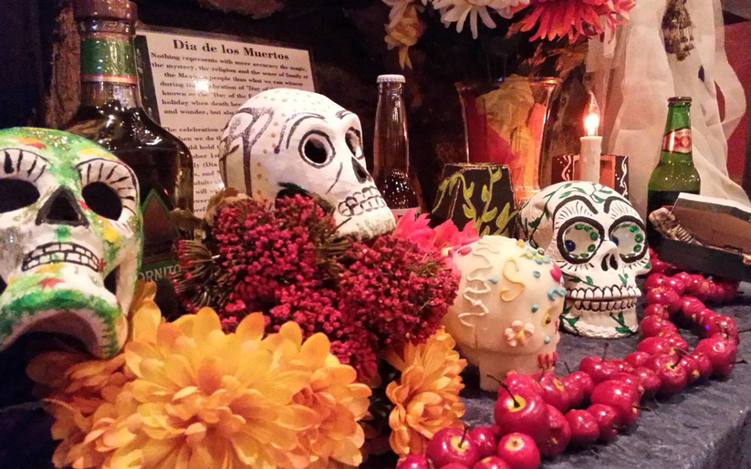 Whimsical tombstones inspire new music for Dia de Los Muertos