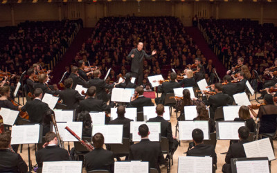 "Shepherd School Symphony Orchestra to premiere Pierre Jalbert's ""In Terra"" at Carnegie Hall"